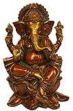 Ganesh Statue Messing Skulptur Ganesha Idol Bronze Hindu Herr, Elefant Gott Diwali Geschenk