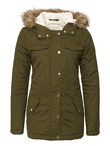 TOM TAILOR Denim Donne Parka verde oliva 38