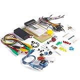 Micro: bits Starter Kit zonder entwicklungsboard incl. Micro: bits proefbord Adapter, Transparant proefbord, SG-90Mini Servo om te leren en Programmeren van makerhawk