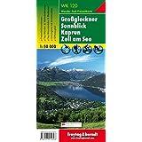 Großglockner - Sonnblick - Kaprun - Zell am See, Wanderkarte 1:50.000, WK 120: Wandel- en fietskaart 1:50 000 (freytag & berndt Wander-Rad-Freizeitkarten)