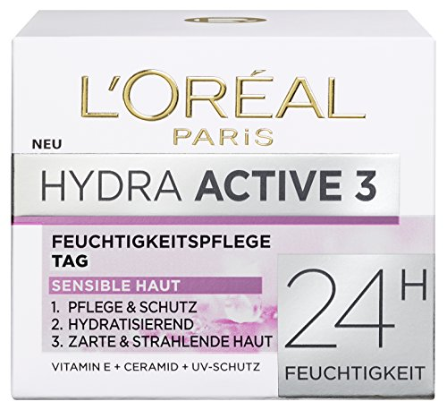 "L'Oral Paris Dermo Expertise ""Hydra Active 3"" Hydrafresh Cream for Dry and Sensitive Skin 50 ml"