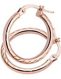 Citerna - Pendientes de oro rosa