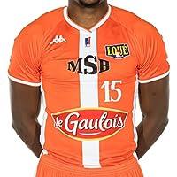 Le Mans Sarthe Basket Kbbm12f Maillot de Basketball Homme