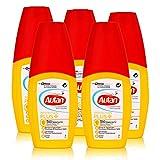 Autan Protection Plus Multi Insektenschutz Pumpspray 100ml - schützt bis zu 8 Stunden vor Mücken, bis zu 5 Stunden vor Stechfliegen wie z.B. Bremsen (5er Pack)