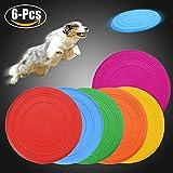 Scheibe Hund, Legendog 6 Stücke Weiches Silikon Hunde Scheibe | Kleine Hunde Spielzeug | Welpenspielzeug Hund | Intelligenzspielzeug Hunde | Training Hundespielzeug Set | Spiele für Hunde | für Kleiner Hunde Welpen 18 CMlzeug Hund | Intelligenzspielzeug Hunde | Training Hundespielzeug Set | Spiele für Hunde | für Kleiner Hunde Welpen 18 CM