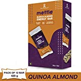 Mettle Quinoa Almond Energy Bars, 35 gm (Pack of 12 pc)