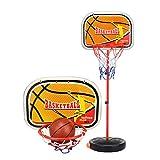 Tbslee Einstellbare Basketballkorb Stand Set Spielzeug, Kinder Tragbare Basketball Net und Backboard Indoor & Outdoor Sportspiele Spielzeug 2 Mt