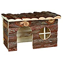 Trixie 62182 Natural Living Jerrik Log House 28 × 16 × 18 cm