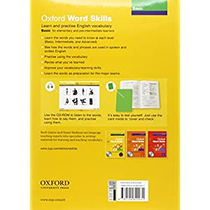 Oxford Word Skills Basic: Student's Book and CD-ROM Pack