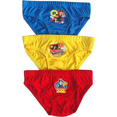 Image of Boy's & Toddlers Postman Pat Hipster Briefs Pants Set (3 Pair Pack) (2-3 Years)