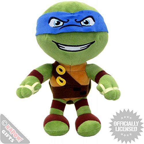 Leonardo 30cm Super Soft Plüsch Schildkröten Blau TMNT Comicserie Teenage Mutant Ninja Turtles Turtler Spielzeug Figur (Mutant Ninja Blaue Teenage Turtles)