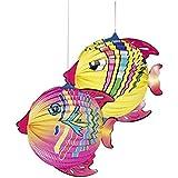 """Laterne """"Fische"""" - Durchmesser: 25 cm - verschiedene Ausführungen - Ausführung leider nicht wählbar"""