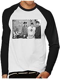 Beastie Boys Fight For Your Right Shoot New York Alley White Men's Baseball Long Sleeved T-Shirt