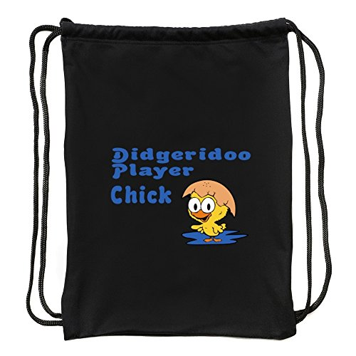 Eddany Didgeridoo Player Chick Turnbeutel