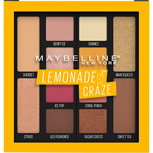 Maybelline New York Lemonade Craze Eye Shadow Palette, Multicolour, 7.4 g