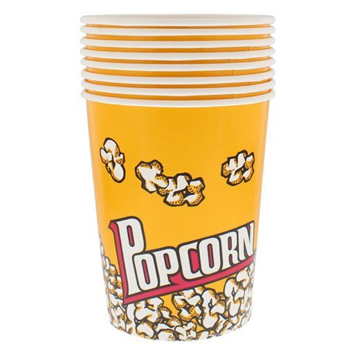Unbekannt PMS Popcorn Halter in Polybeutel mit Etikett, 8er-Pack