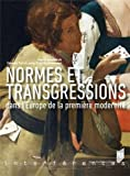 Normes et transgressions dans l'Europe de la première modernité