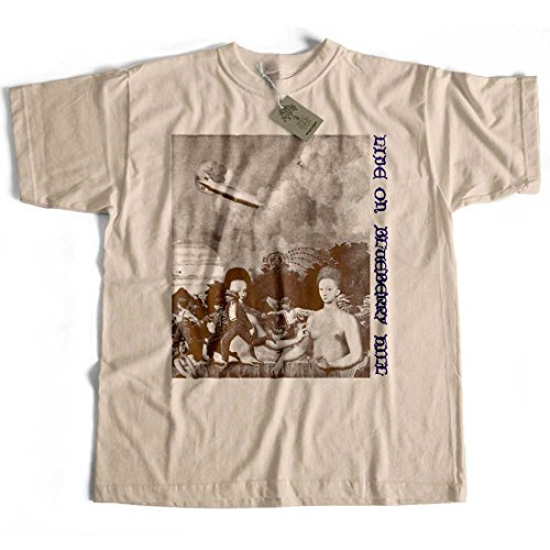 Old Skool Hooligans Classic Vinyl Live On Blueberry Hill T Shirt - 70's Zep Replica