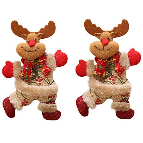 sverzierungen 18x13cm Elf Plüsch Holiday Plüsch Zeichen Baum Verzierungs Feriengeschenke (B) ()
