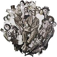 Tim Holtz muñecas, Papel, Multicolor, 17,8x 13x 3cm