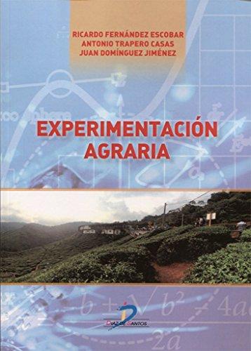 EXPERIMENTACIÓN AGRARIA por RICARDO FERNÁNDEZ ESCOBAR