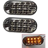 Luces de marcador lateral LED Lámpara de señal de giro compatible con Jetta Golf 4 GOLF4 Mk4 Passat B5 GTI TDI R32