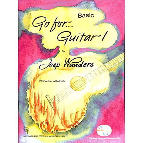 Joep Wanders: Go For.Guitar! - Basic (Book/2 CDs). Für Gitarre