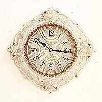 ZHGI Soggiorno europeo orologio da parete, orologio pastorale camera da