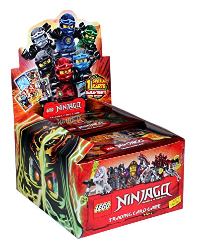 Sammelkarten Lego Ninjago Serie II, 50 Booster in Display