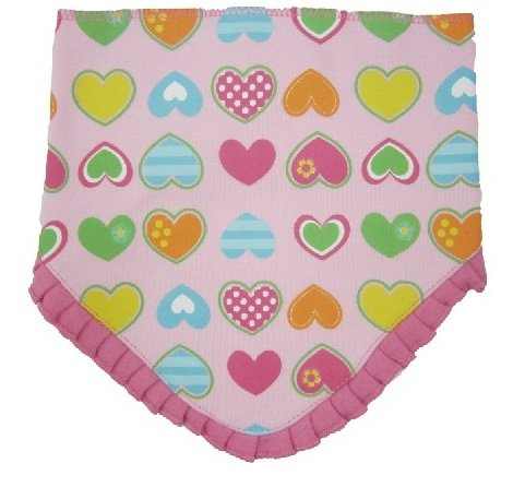 Luvable Friends Baby Deluxe Triangle Bandana Bib