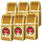 Lavazza Kaffee Qualita Oro, ganze Bohnen, Bohnenkaffee, 6er Pack, 6 x 1000g