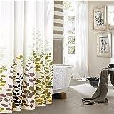 TOYM- Bagno cortina di ispessimento Mouldproof impermeabile doccia partizione tende Tende opache ( dimensioni : W200cm*H200cm )