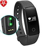 Fitness Tracker, Willful Activity Tracker Cardio Pedometro Cardiofrequenzimetro Orologio Braccialetto Fitness Watch Band Smartwatch per iPhone Samsung Android iOS Smartphones per Donna Uomo Bambini