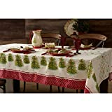Pioneer Tischdecke mit Weihnachtsbaum-Motiv, Textil, Multi, 52