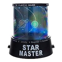 Smartfox LED yıldızlı gökyüzü Gezegen Kosmos projektör gece lambası gece aydınlatması Babylicht Schlaflicht uyku lamba Sky Star Master–Variation