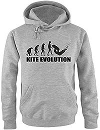 Evolution Kite - Herren Hoodie Gr. S bis XXL Diverse Farben