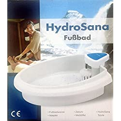 Hydrosana Fußelektrolysebad mit 3 Spulen Elektrolyse Fußbad Fußwanne