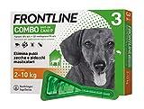 Frontline | Combo Spot On Cani | Protezione da pulci, zecche, uova e larve di pulci | 3 Pipette | Cane S (2 - 10 Kg)