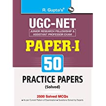UGC-NET (Paper-I) 50 Practice Papers (Solved)