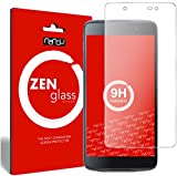 nandu I ZenGlass Flexible Glas-Folie für BlackBerry DTEK50 Panzerfolie I Display-Schutzfolie 9H