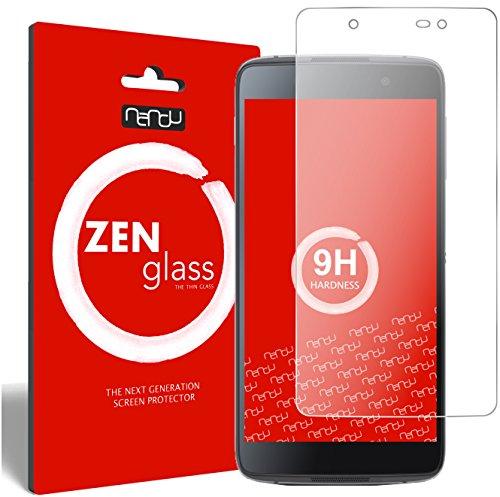 nandu I ZenGlass Flexible Glas-Folie für BlackBerry DTEK50 Panzerfolie I Bildschirm-Schutzfolie 9H