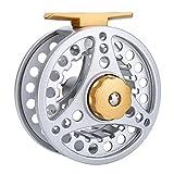 Dioche Fly Angelrolle, Metallische Aluminium Hochfeste Fly Fliegenrolle 5/6 7/8 Tackle Zubehör(5/6)