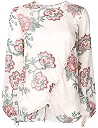 Amazon T it Bluse Bianca Donna Pinko Camicie Shirt Camicia E rrqwZ8Rg