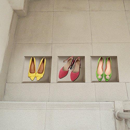 bluelover-scarpe-ragazza-3d-equitazione-lattice-piano-stickers-pag-rimovibile-wall-art-griglia-della