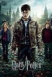 Harry Potter - 7 - Teil 2 One Sheet - und die Heiligtümer des Todes Filmposter Kinoplakat - Grösse 61x91.5 cm + 1 Ü-Poster der Grösse 61x91,5cm