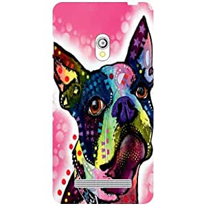 Asus Zenfone 5 A501CG - Funky Matte Finish Phone Cover