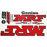 A K MRF Genius Cricket Bat Sticker Virat Kohli Grand Edition
