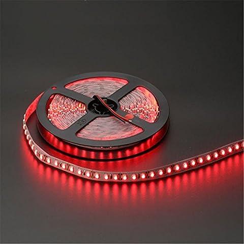 Prodeli LED Strip Lights Waterproof SMD3528 16.4 Ft (5M) 300leds