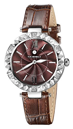 Reichenbach Woman Quartz Watch Loos Brown 35 mm