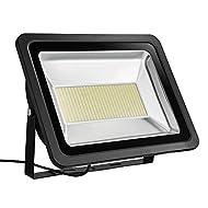 Yuanline® Projecteur LED Extérieur 300W 3000Lumen Floodlight Spot Phare Intérieur et Extérieur Lumière Blanc Chaud Imperméable IP65 pour Jardin Cour Terrasse Square Usine